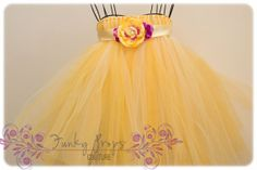 You Are My Sunshine.  Yellow  tulle tutu by FunkyPropsCouture, $52.00