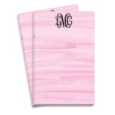 Pink Washed Notepads