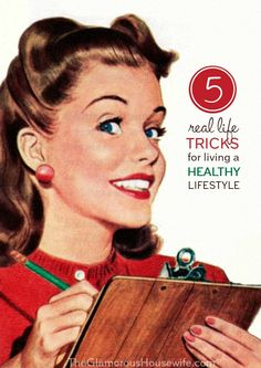 Here are 5 real life tricks that I use to live a healthy lifestyle! Number 2 is my favorite and I use it every single day.