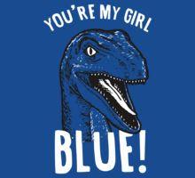 Blue Jurassic World Shirt - You're My Girl Blue Raptor Mens T-Shirt - Velociraptor Squad Guys Dinosaur Tee Top Michael Crichton, Jurassic World Park, Thriller, Jurassic Movies, Science Fiction, World Movies, Horror, Falling Kingdoms, T Rex