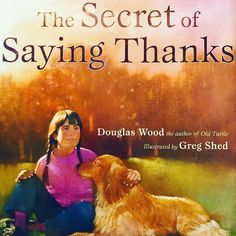 """We don't give thanks because we're happy. We are happy because we give thanks. Douglas Wood, Gratitude Book, Montessori Books, Thankful, Author, Illustration, Happy, Instagram, Writers"