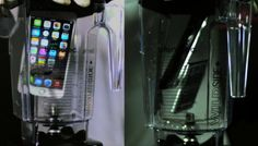 iPhone 6 ve iPhone 6 Plus'ların tanıtımından bu yana maruz kalmadığı işkence kalmadı. iPhone 6 Plus'ı Galaxy Note 3'le beraber kendilerince dayanıklılık testine sokmak isteyen bir grup bu sefer cihazları blenderda karıştırdı.