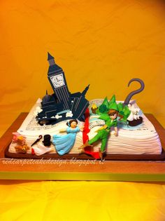 PETER PAN CAKE- by Red Carpet Cake Design® | Red Carpet Cake Design®