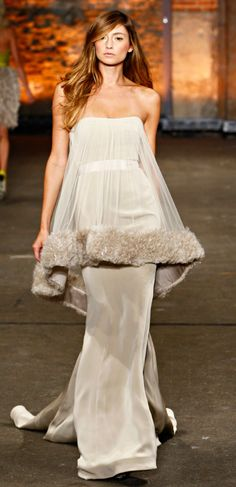 Christian Siriano - This was totally inspired by a costume in Funny Girl
