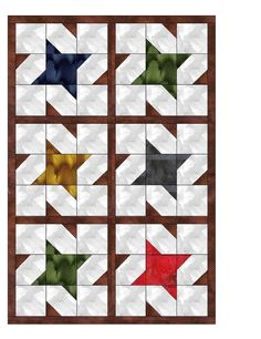 Looking for your next project? You're going to love Mississippi Quilt Block Flag by designer Mossy Turtle.