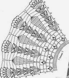 Discover thousands of images about Kira scheme crochet: collars Letayushaya_na_barse - Дневник Letayushaya_na_barse Crochet Patterns Skirt These are parts of the collar and you alone determine the length. This Pin was discovered by Sus Crochet Patt Crochet Cape, Black Crochet Dress, Crochet Skirts, Crochet Motif, Crochet Shawl, Crochet Doilies, Crochet Clothes, Filet Crochet, Hand Crochet