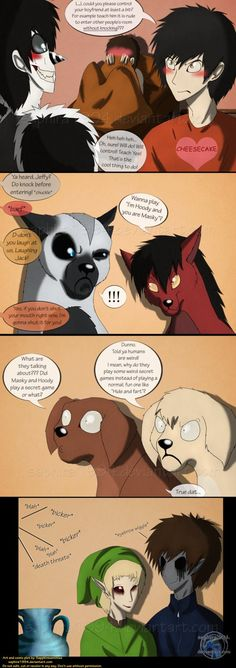 Adventures With Jeff The Killer - PAGE 87 by Sapphiresenthiss on deviantART