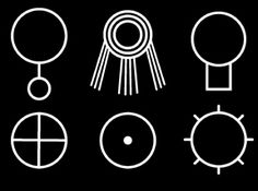 Olympic Spirits, the Cult of the Dark Goddess, and the Seal of Ameth - Vincent Bridges and Teresa Burns Ancient Scripts, Ancient Symbols, Native Design, Tattoo Inspiration, Design Inspiration, The Darkest, Geometric Art, Sacred Geometry, Deities