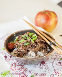 Asian Crockpot Pulled Pork