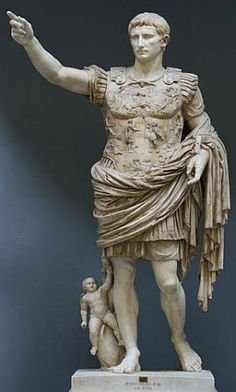 primeiro imperador romano Othávio Augusto
