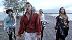 Pirates of The Caribbean Medley - A Capella - Peter Hollens & Gardiner S...