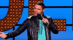"""""""The Daily Show"""" host Trevor Noah on growing up in apartheid South Africa and being black in America Live At The Apollo, The Comedian, Comedy Clips, Trevor Noah, Jon Stewart, The Daily Show, Stand Up Comedy, Best Black, Viera"""