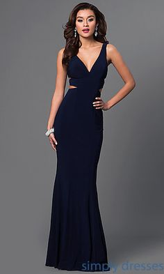 Shop cut-out pageant dresses and military-ball gowns at Simply Dresses. Floor-length evening gowns and special-occasion dresses by Faviana.