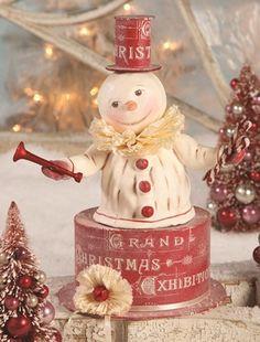 Dee Foust. Christmas snowman