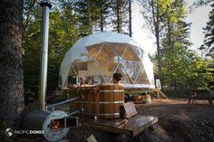 Eco-Resort Domes, Eco-Friendly Luxury Resort Domes- Pacific Domes