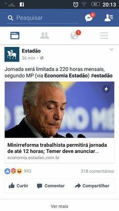 NÃO FALE CRISE, TRABALHE! URGENTE: Governo Temer/PSDB vai assinar decreto que autorizam 12 horas de trabalho por dia!