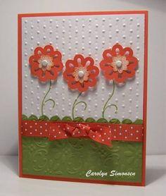 Cottage Garden - Stampin Up su-cards