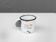 Jubileusz 80-lecia Dominikańskiego Duszpasterstwa Dominikańskiego (1937/38 - 2017/18). Projekt: Elżbieta Kowalska & Sztab80. Mockup: Krzysztof Nowak. Mugs, Tableware, Dinnerware, Tumblers, Tablewares, Mug, Dishes, Place Settings, Cups