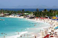 Orient Beach, St. Maarten. Saw an old man shaking his junk off here, bare ass naked...........! ewwww, but so funny!