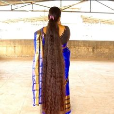 Loose Hairstyles, Indian Hairstyles, Ponytail Hairstyles, Long Hair Ponytail, Braids For Long Hair, Beautiful Braids, Dream Hair, Hair Goals, Long Hair Styles