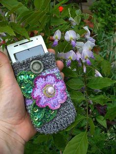 Púzdro na mobil : Bez Teba, Láska, ako žiť ? by BosaBeta - SAShE.sk - Handmade Na mobil