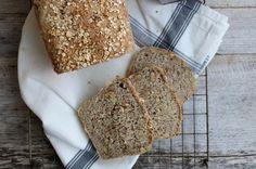 Eltefritt havrebrød i brødform - LINDASTUHAUG
