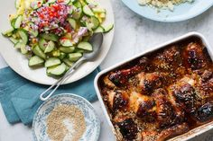 Rachel khoos sticky malaysian chicken with pineapple salad recipe rachel khoos sticky malaysian chicken with pineapple salad forumfinder Images