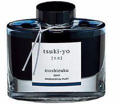 Pilot Iroshizuku Fountain Pen Ink - Tsuki-yo (Night Sky). This is THE best ink!!!!