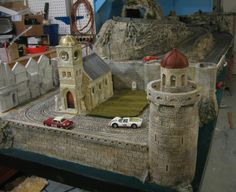 Rallye des Alpes Track New Light House, the light accually works - Page 4 - Slot Car Illustrated Forum