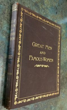Great Men and Famous Women Vol IV with Wood Engravings Wood