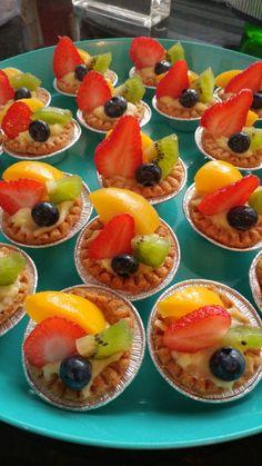 Tartas con fruta