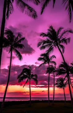 rainbow in your eyes | travelingcolors:   Ko Olina Sunset | Hawaii (by...