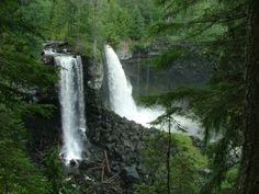 canadian waterfalls | Canim Lake Waterfalls, BC, Canada
