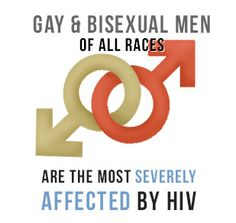 HIV most seriously affects gay and bisexual men of all races.