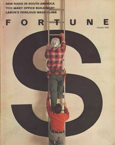 October 1969 Fortune Magazine - Climbing the Ladder of Financial Success | eBay