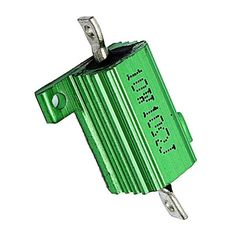 Green 10 Watt 10 Ohm 5% Aluminum Shell Wire Wound Resistor Wdode