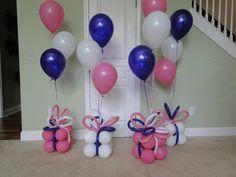 Present Balloon Pillar