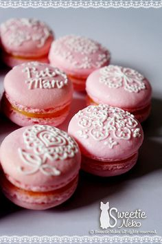 Macarons by SweetieNeko Homemade Sweets