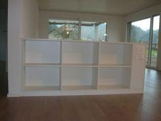 Eugster Holzbau :: Raumtrenner-Möbel