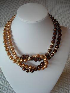 Girocollo di perle swarovski