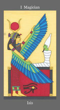 Dark Goddess Tarot Magician