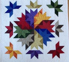 Image result for LeMoyne Star barn quilt