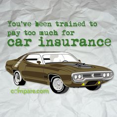 You don't even know it, but I'll show you that it's true. Find out how you've been trained to pay too much for #car #insurance: http://www.compare.com/auto-insurance/coverage/branded-search-auto-insurance.aspx