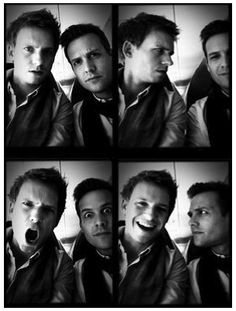 Suits: Patrick J. Adams & Gabriel Macht