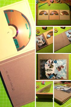 Triple DVD Sleeve handmade DIY