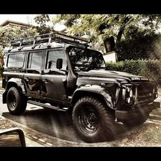 #defender -- now, that's what i call an off-road vehicle