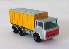 Vintage Matchbox Lesney Tipper Container Truck #47 XLNT 1968 #MatchboxLesney #DAF