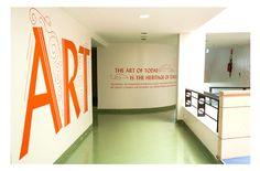 Piramal Art Foundation: Environmental Graphics — Kahani Designworks
