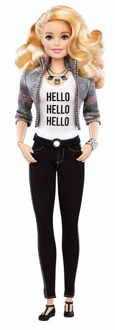 Barbie Hello Doll Toy Figurine Collector Mattel Smart For Girls Blonde Character  | eBay