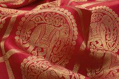 elephant motifs - a rare but beautiful sight
